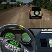 Игра Игра Глубокий лес: 3Д гонка