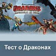 Игра Игра Как приручить дракона: тест о драконах
