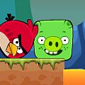 Игра Игра Энгри бердз против плохие свиньи