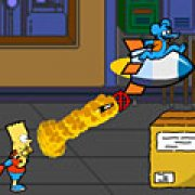 Игра Игра Барт Симпсон взрывает зомби