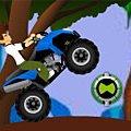 Игра Игра Бен 10 квадроцикл в джунглях