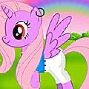 Игра Игра Новый маленький пони: одевалка