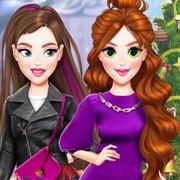 Игра Игра Новые для девочек: мое новогоднее селфи
