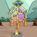 Игра Игра Спасение птицы пещерного человека