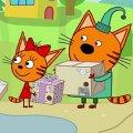 Игра Игра Три Кота: Посылки Подряд