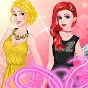 Игра Игра Принцессы Диснея: модный показ в колледже