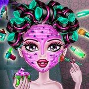 Игра Игра Школа монстров: реальный макияж