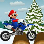 Игра Игра Зимний след Марио