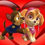 Игра Игра Щенячий патруль любовь