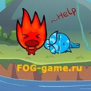 Игра Игра Огонь и Вода: выживание на острове