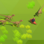 Игра Игра Динозавры: Месть Трицератопсов