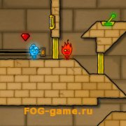 Игра Игра Огонь и Вода 2 в Светлом Храме