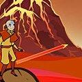 Игра Игра Аватар: прыжки через вулкан