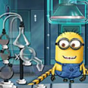 Игра Игра Миньоны лаборатория напитков