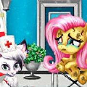 Игра Игра Лечить Флаттершай в больнице