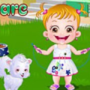 Игра Игра Малышка Хейзел уход за щенком