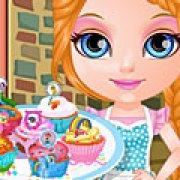 Игра Игра Малышка Барби кексы мой маленький пони
