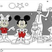 Игра Игра Раскраска: клуб Микки Мауса