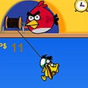 Игра Игра Angry birds: двойная рыбалка