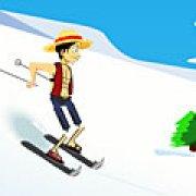 Игра Игра Ван-Пис на лыжах