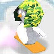 Игра Игра Пингвин на сноуборде 3Д