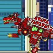 Игра Игра Роботы динозавры Спинозавр