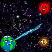 Игра Игра Злые астероиды 2