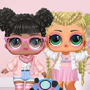 Игра Игра Куклы Лол Софт: Девушки Эстетик