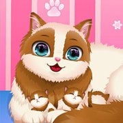 Игра Игра Уход за беременной кошкой