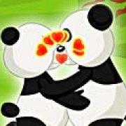 Игра Игра Панды целуются