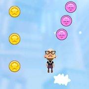Игра Игра Злая бабушка: прыжки вверх и в сторону