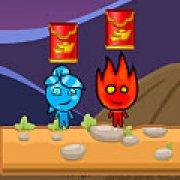 Игра Игра Огонь и Вода война с животными