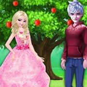 Игра Игра Эльза и Джек: Дерево Любви