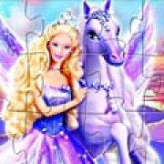 Игра Игра Волшебство Пегаса Барби: пазл