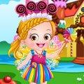 Игра Игра Малышка Хейзел в костюме шоколадной феи