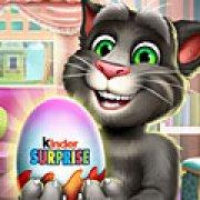 Игра Игра Говорящий кот Том: киндер сюрприз