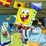 Игра Игра Губка Боб: скрытые буквы