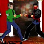 Игра Игра Бен 10 против ниндзя