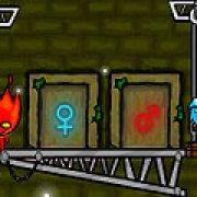 Игра Игра Огонь и Вода в лесном храме 4
