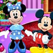 Игра Игра Микки и Минни Маус новогодняя вечеринка
