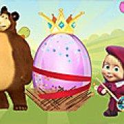 Игра Игра Маша и Медведь: Пасха