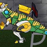 Игра Игра Роботы динозавры ремонт Стегозавра