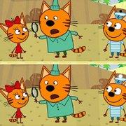 Игра Игра Три Кота: Найди 10 Отличий