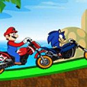 Игра Игра Марио против Соника: гонки