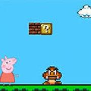 Игра Игра Свинка Пеппа в мире Марио