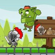 Игра Игра На двоих: рыцарь и тролль