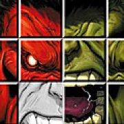 Игра Игра Халк: красный против зеленого
