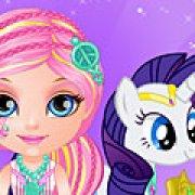Игра Игра Барби и Пони 2