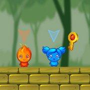 Игра Игра Герой Огонь и Принцесса Вода