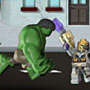 Игра Игра Приключение Мстителей: Лего Халк